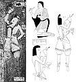 Kizil Caves autoportraits of painters, circa 500 CE.jpg