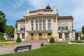 Klagenfurt Innere Stadt Theaterplatz 4 Stadttheater SW-Ansicht 18052020 9029.jpg