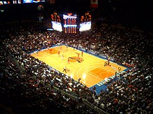 Madison Square Garden In January 2009, As The New York Knicks Play Against  The Houston Rockets