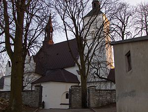 Małogoszcz - Birth of Virgin Mary Church