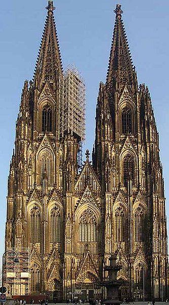 fasada katedry w Kolonii