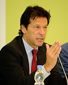 Imran Khan - the cool, clever, intelligent,  politician  with Pakistani roots in 2018