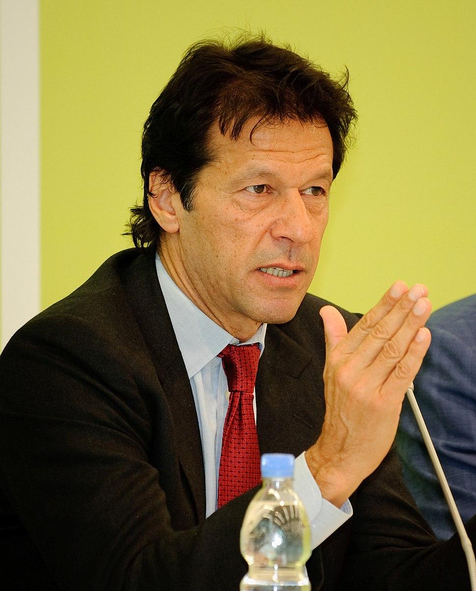 Konferenz Pakistan und der Westen Imran Khan edited