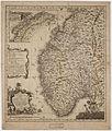 Kongeriget Norge afdelet i sine fiire Stifter; samt underliggende Provstier 79, 1761.jpg