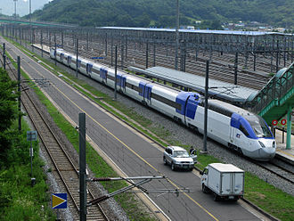 Korea Train Express - The HSR-350x-derived KTX-II