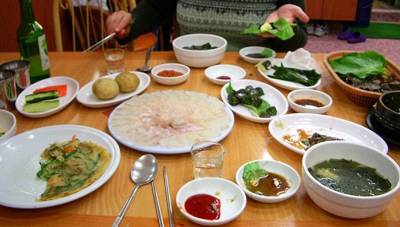 Jedzenie rożne potrawy