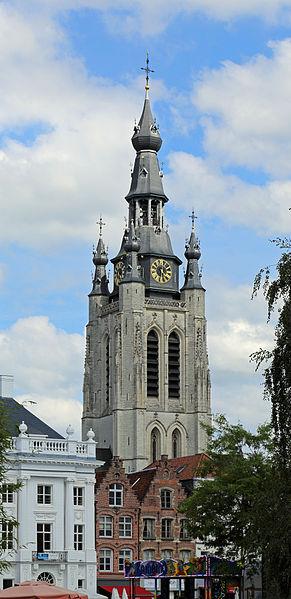 Kortrijk (Belgium): bell tower of St Martin's church