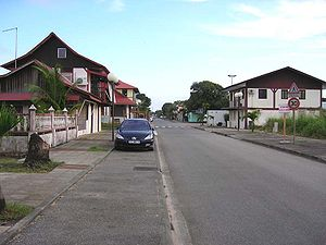 Kourou - The Bourg.