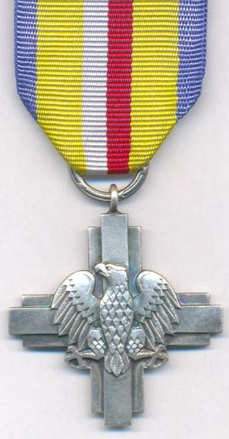 Battle of Lenino - A military decoration for Polish soldiers who fought in the battle of Lenino