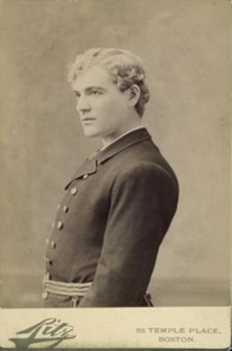 Kyrle Bellew - Young portrait of Bellew by Ernest Ferdinand Ritz, before 1890