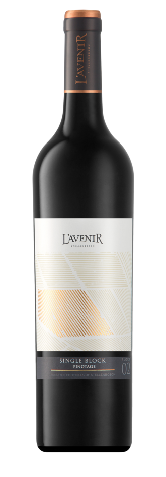 South African wine - L'Avenir Wine Estate Single Block Pinotage