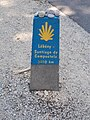 Lébény-Santiago de Compostela 3210km, 2017 Lébény.jpg
