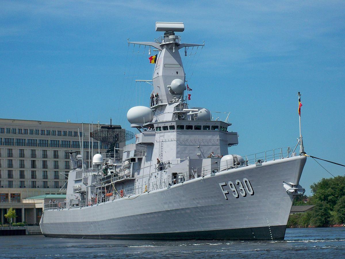 S 60 >> Belgian frigate Leopold I (F930) - Wikipedia