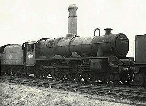 LMS Jubilee Class 5690 Leander - Image: LMS Stanier Class 6P 45690 (8426676545)
