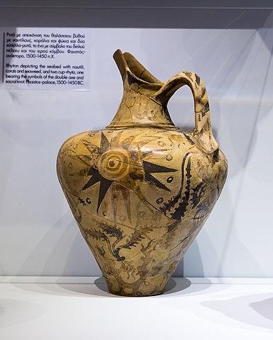 Marine ware jug from Malia
