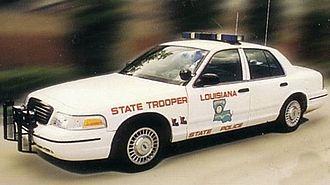 Louisiana State Police - Louisiana State Police Crown Victoria