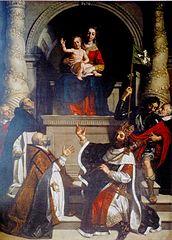 Vierge de la famille de Vic