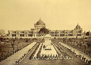 English: Chattarmanzil, Claude Martin's palace...
