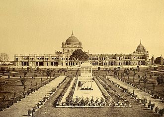 Qaisar Bagh - Qaisarbagh Complex of Lucknow, Uttar Pradesh, India (photograph taken between 1865 and 1882).