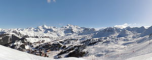 La Plagne - La Plagne in winter.