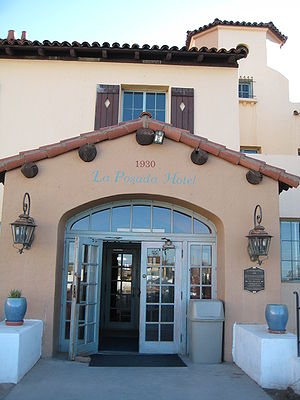 English: La Posada Hotel, Winslow.