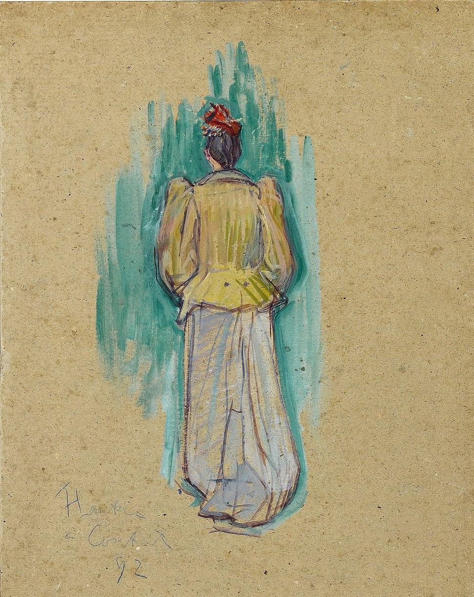 La Promeneuse by Henri de Toulouse-Lautrec
