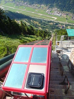 Quinto, Ticino - Funicular to Lago Ritom