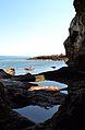 La mar i bassetes de la cova Tallada, Xàbia.JPG