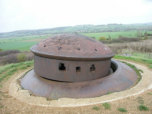 Photo - Fortifications de la ligne Maginot dites