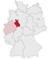 Lage des Regierungsbezirkes Detmold in Deutschland.PNG