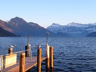 Weggis - Lake Lucerne from Weggis