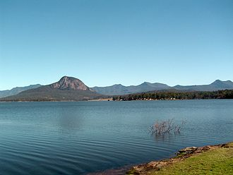 Moogerah Dam - Lake Moogerah at 99.5% capacity