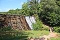 Lake Placid dam, Paris Mountain State Park June 2019 1.jpg