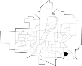 Lakewood SC location map