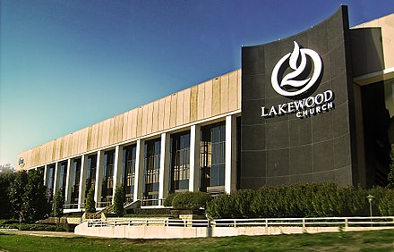 The Lakewood Church in Houston is the largest church in the United States. - Texas