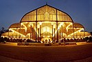 Lalbagh Glasshouse night panorama.jpg