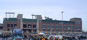 2003 Green Bay Packers season - Lambeau Field on a game day, December 2003
