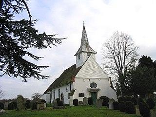 Lambourne village in the United Kingdom