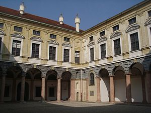 Landshut Residence - Landshut Residence, court of the Italian Building