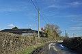 Lane past Flaxland-fach - Walterston - geograph.org.uk - 1732252.jpg