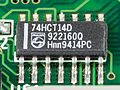Laptop Acrobat Model NBD 486C, Type DXh2 - Philips 74HCT14D on motherboard-2360.jpg