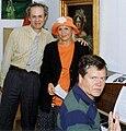 Lars Jacob, Christina Schollin & Berndt Egerbladh 1993.jpg