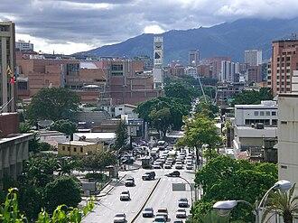 Las Mercedes, Caracas - Las Mercedes Avenue