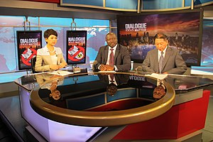 China Central Television - Lassina Zerbo interviewed by China Central Television