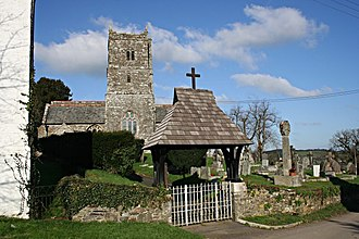 Lawhitton - Image: Lawhitton Church and Lych Gate geograph.org.uk 330660