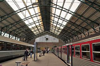 Gare du Havre railway station in Le Havre, France