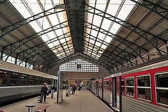 Gare du Havre - Image: Le Havre La gare 2 Artlibre jnl