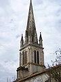 Le clocher - église Saint-Martin de Pouillon.jpg