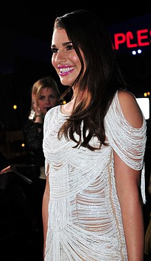 Lea Michele at the 38th People's Choice Award (2).jpg