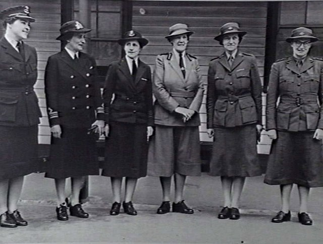 Leaders of Australian Womens Services 1942